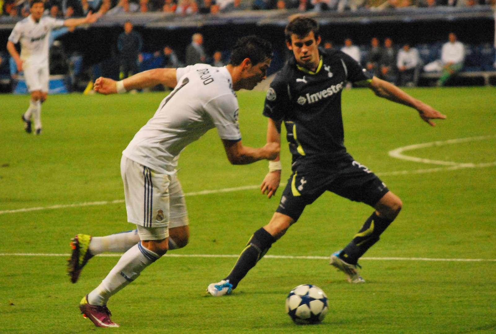 Ronaldo_Bale - joueurs de football