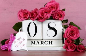 women's festival - gentlemen, what does this date tell you