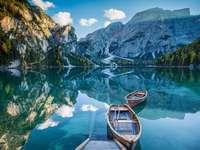 landschap - kleurrijke puzzel