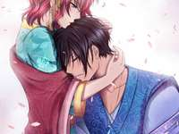 Akatsuki no Yona - Yona - Princess and heiress to the throne of the Kingdom of Kouka and Hak - Former general of the cl