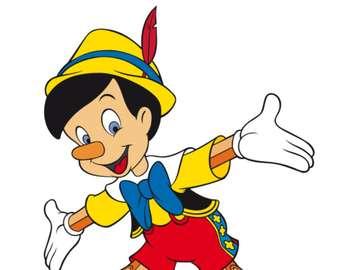 Puzzle Pinokia - UMIEŚĆ NA ZAMÓWIENIE OBRAZU PINOCCHIO