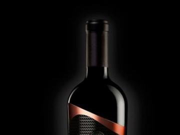 ANIMAMEA - Bouteille de vin M. De Santis ligne vins de luxe Label ANIMA MEA