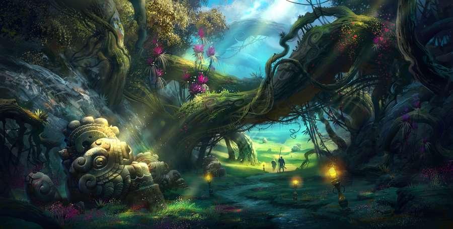 Um lugar encantador - Em algum lugar onde o sonho mágico começa :) (9×10)