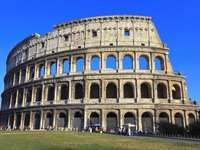 The Colosseum - Famous monument around the world - Coliseum in Italy.