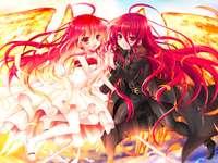 Anime meisjes - Wallpaper voor meisjes