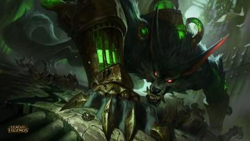 LEAGUE OF LEGENDS WARWICK - WARWICK FROM LIF OF LEGENDS GAME