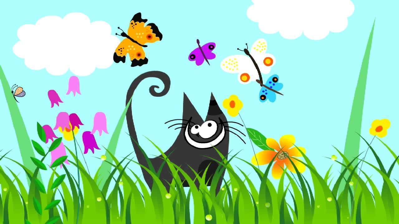 pisica de primăvară în luncă - Puzzle de primăvară. Maxrespatka. Puzzle-uri de primăvară pentru copiii preșcolari. Cea mai bună zonă de puzzle pentru copii. Puzzle pentru copii pentru preșcolari. Imagine de primăvară, pen (2×2)