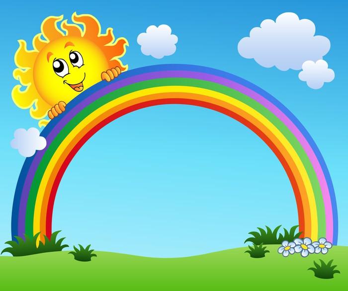 sol och regnbåge online pussel