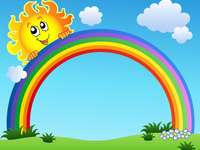 слънце и дъга