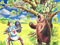 Bear - Fairy tales - Mariusz Niemycki - About the evil hetman and the sunken castle and other fairy tales of Sępólno Kr