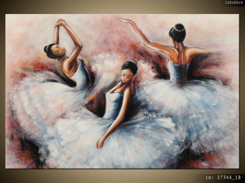 Balerine dansând - O imagine a balerinelor dansatoare (5×5)