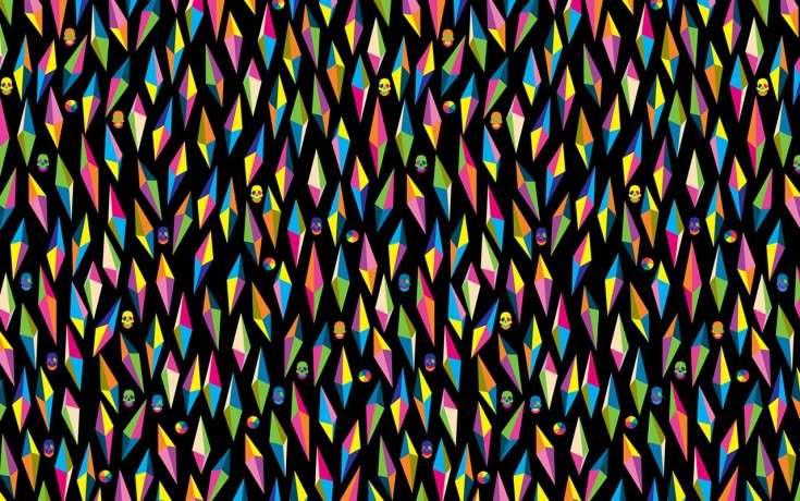 colorat și greu - Puzzle colorat, foarte dificil (10×10)