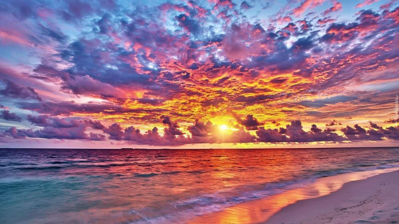 Marea și cerul - Marea și cerul colorat (5×5)