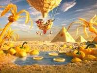 Жълт оазис