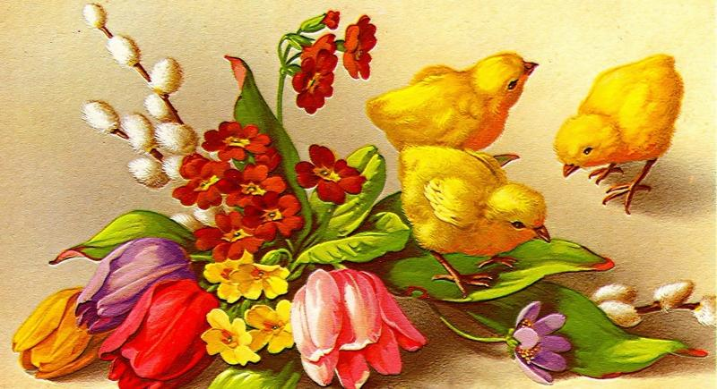 Easter - colorful jigsaw puzzle (10×10)