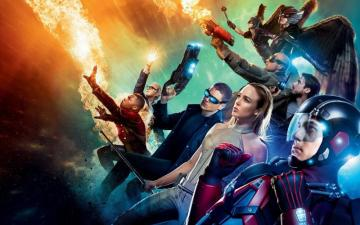 Legends of Tomorrow - White Canary, Firestorm, Capitan Cold,