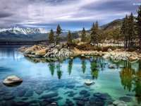 Lake Tahoe - Lake Tahoe en Nevada