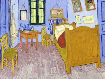The Van Gogh Room! - The Van Gogh Room!