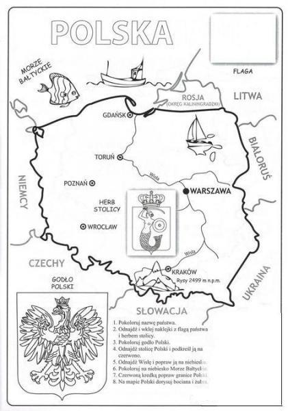 Polen - karta