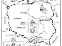 Polen - kaart
