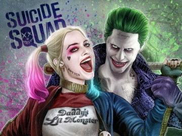 """Joker y harley - Warner Bros. Pictures y DC Entertainment no reconocen algo como """"gráficos demasiado ocupados&q"""