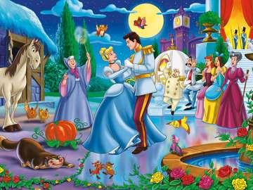 Kopciuszek - Kopciuszek, bal, taniec, książę