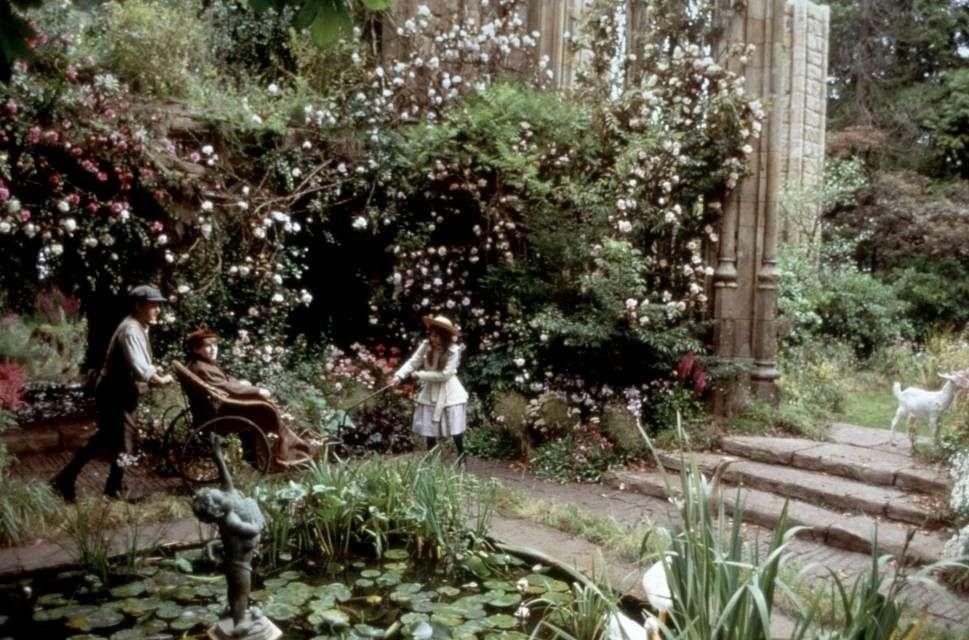 Tajemniczy ogród - Mary, Dick i Colin w ogrodzie