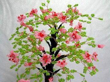 fiori - la natura stessa - albero decorativo in una pentola