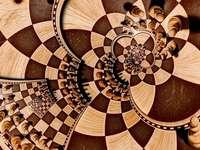 Kleurrijke puzzel