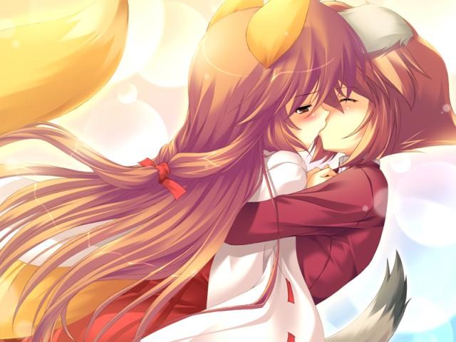 Anime φιλί