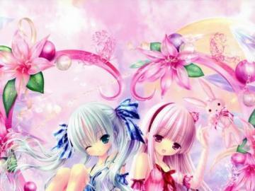 Anime Girls - Tapeta dla dziewczyn