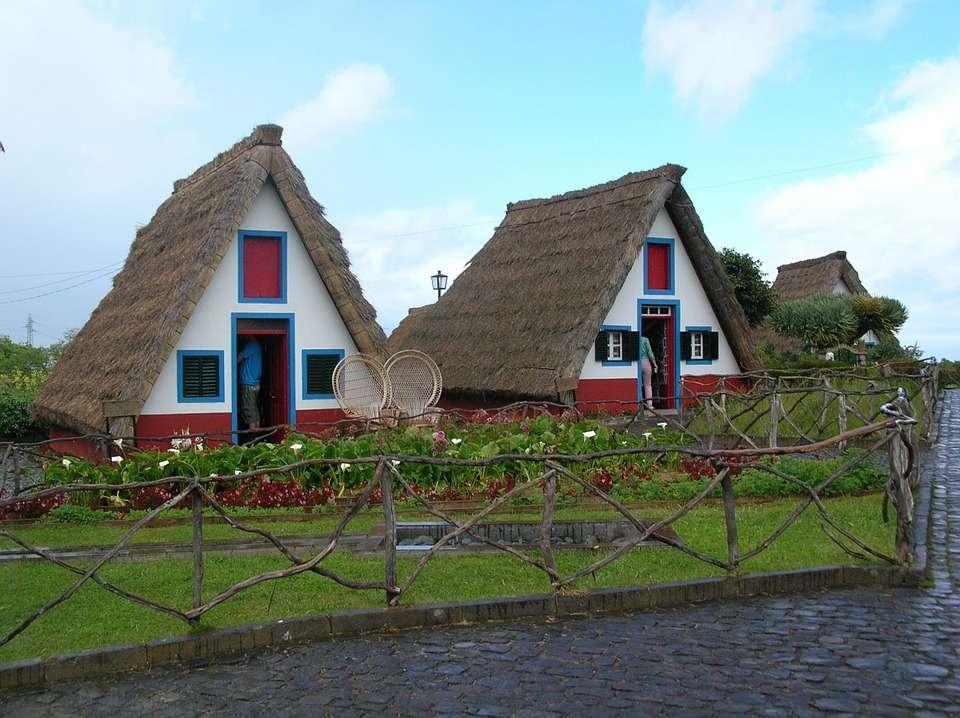 Ferienhäuser in Madeira. Puzzle