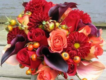 Kwiatuszki - Bukiet ładnych kwiatuszków