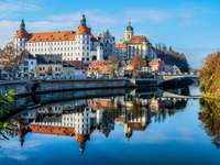 Paleis aan de Donau - Neuburg, Donau, paleis