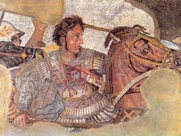 Alessandro Magno - mosaïque d'Alexandre