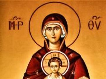 Mother of God - art icon. Our Lady
