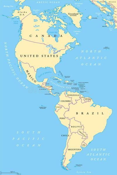 Nord- und Südamerika