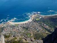 Cape Town. Zuid-Afrika. - Camps Bay. Cape Town.