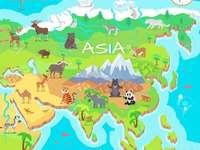 ázsiai kontinens
