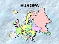 europa kontynentalna puzzle