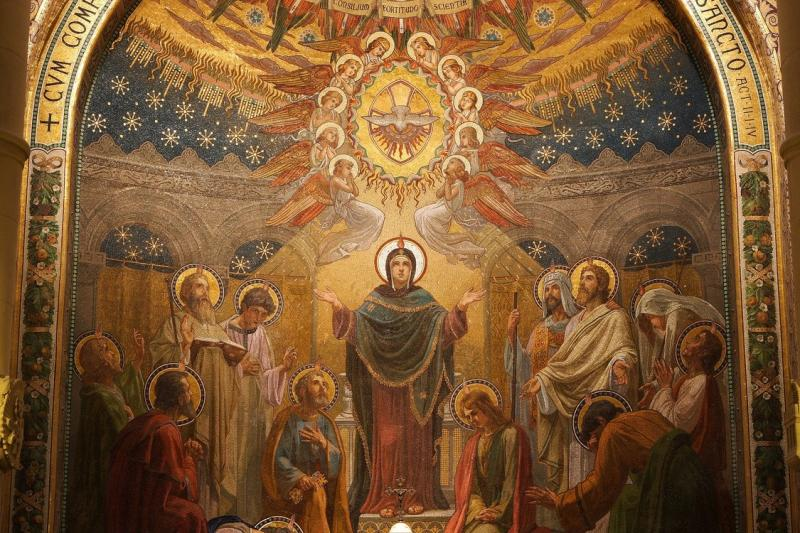 Pentecost - Descent of the Holy Spirit