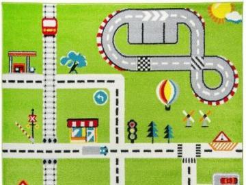 Dywan C4Y City Fun - City Fun jest interesującym dywanem, który przykuje z pewnością uwagę małych chłopców. Kompo