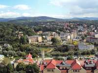 Klodzko - Panorama of Kłodzko - view from the Kłodzko fortress