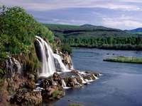 cachoeira - cachoeira, pedras, rio