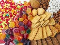 Sweets - Sweets, cookies, jellies.