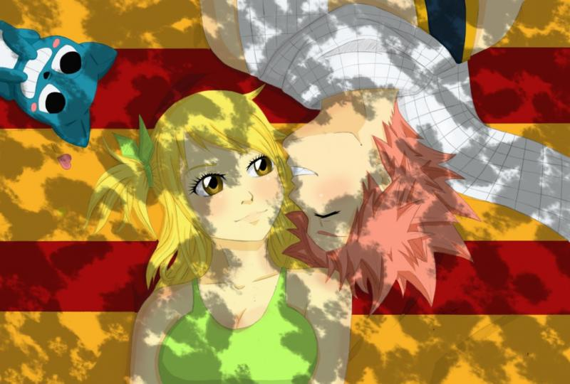 Fairy tail - Lucy Heartfilia och Natsu Dragneel Love (10×10)