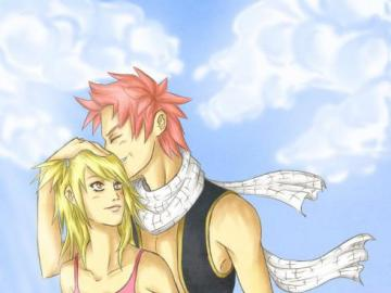 Fairy Tail - Lucy Heartfilia and Natsu Dragneel Love
