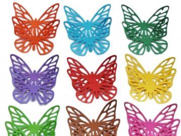 kleurrijke vlinders - Dit is een foto van kleurrijke vlinders