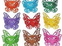 цветни пеперуди - Това е снимка на цветни пеперуди