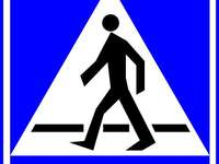 rompecabezas de señales de trá